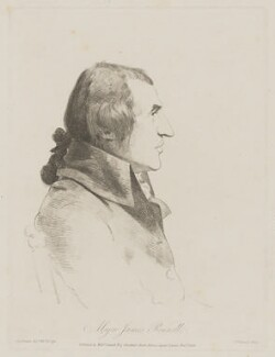 James Rennell, by and published by William Daniell, after  George Dance - NPG D39687