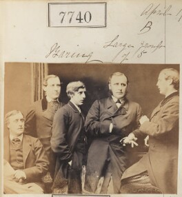 The Baring brothers, by Camille Silvy - NPG Ax57579