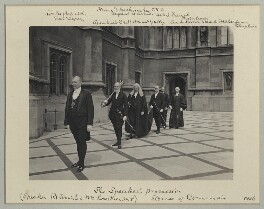 'The Speaker's procession', by Sir (John) Benjamin Stone, July 1906 - NPG x134418 - © National Portrait Gallery, London