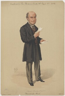 Edward Howley Palmer, by 'Pet', printed by  Stevens & Co - NPG D39511