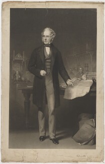 Henry John Temple, 3rd Viscount Palmerston, by George Zobel, published by  Brooker & Son, after  Francis Cruikshank - NPG D39515