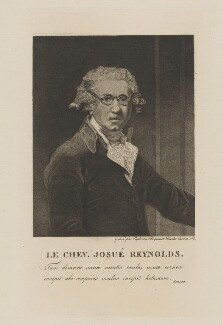 Sir Joshua Reynolds, by Euphrasie Picquenot, after  Sir Joshua Reynolds - NPG D39702