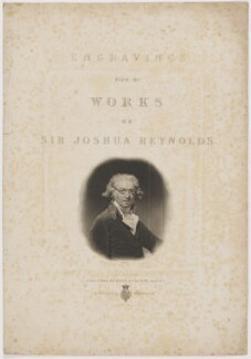 Sir Joshua Reynolds, by William Giller, published by  Moon, Boys & Graves, after  Sir Joshua Reynolds - NPG D39703