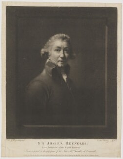 Sir Joshua Reynolds, by Caroline Kirkley, published by  Anthony Molteno, after  Sir Joshua Reynolds - NPG D39704