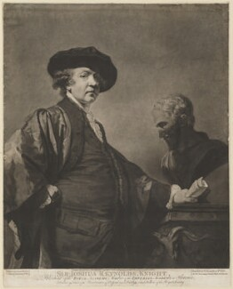 Sir Joshua Reynolds, by and published by Valentine Green, after  Sir Joshua Reynolds - NPG D39705