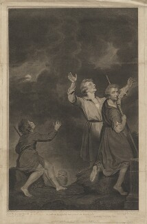 'Adoration of the Shepherds' (Thomas Jervais; Sir Joshua Reynolds), by Georg Siegmund Facius, by  Johann Gottlieb Facius, published by  John Boydell, after  Josiah Boydell, after  Sir Joshua Reynolds - NPG D39706