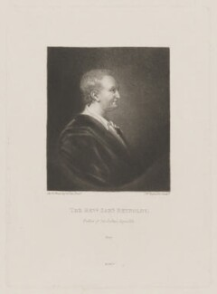 Samuel Reynolds, by Samuel William Reynolds, published by  Henry Graves & Co, after  Sir Joshua Reynolds - NPG D39708