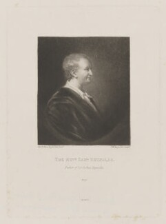 Reverend Samuel Reynolds, by Samuel William Reynolds, published by  Henry Graves & Co, after  Sir Joshua Reynolds - NPG D39709