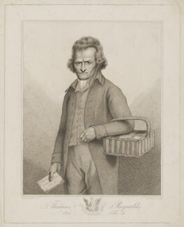 Thomas Reynolds, by Thomas Cheesman, after  William Delamotte - NPG D39710