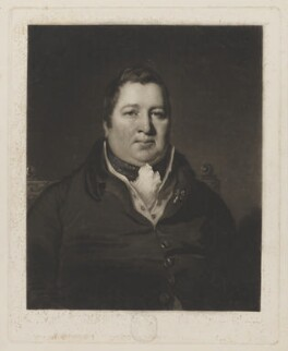 William Ramsay Maule, 1st Baron Panmure when Hon. William Maule, by Thomas Goff Lupton, after  Colvin Smith - NPG D39526