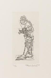 Sir Eduardo Paolozzi ('The Artist as Hephaestus'), by Sir Eduardo Paolozzi - NPG D39527
