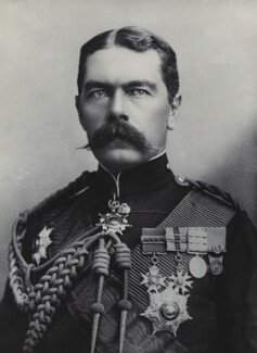 Herbert Kitchener, 1st Earl Kitchener, by Alexander Bassano - NPG x85797