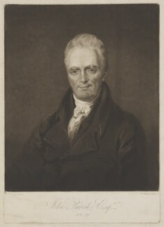 John Parish, by Henry Meyer, after  Charles Hénard - NPG D39529