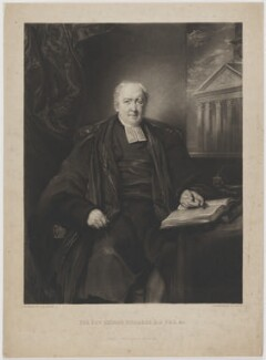 George Richards, by David Lucas, published by  Samuel Leigh, after  James Matthews Leigh - NPG D39714