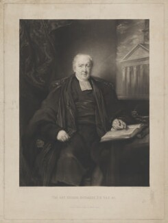 George Richards, by David Lucas, published by  Samuel Leigh, after  James Matthews Leigh - NPG D39715