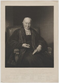 George Richards, by Charles Turner, published by  Paul and Dominic Colnaghi & Co, after  C. Ross - NPG D39717