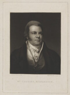 Charles Richardson, by William Say, after  Samuel Drummond - NPG D39721