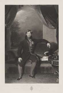 King George IV, by William Finden, after  Sir Thomas Lawrence - NPG D10985