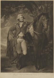 King George IV, by John Raphael Smith, after  Thomas Gainsborough - NPG D10984