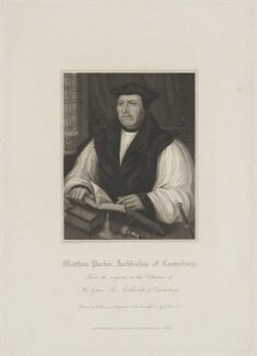 Matthew Parker, by Charles Picart, published by  Lackington, Allen & Co, and published by  Longman, Hurst, Rees, Orme & Brown, after  William Haines, after  Unknown artist - NPG D39536