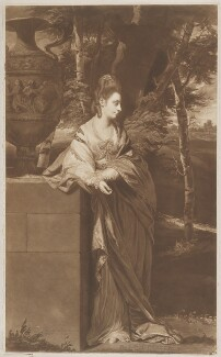 Theresa Parker, by Thomas Watson, after  Sir Joshua Reynolds - NPG D39539