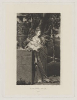 Theresa Parker, by Samuel William Reynolds, published by  Henry Graves & Co, after  Sir Joshua Reynolds - NPG D39540