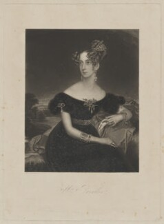 Mrs Parnther, by George H. Every, printed by  S.H. Hawkins, after  Arminius Mayer - NPG D39544