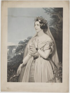 Teresa Parodi, by John Harris, published by  Henry Graves & Co, after  Frederick Newenham - NPG D39545