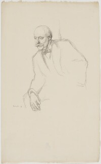 Sir (Charles) Hubert Hastings Parry, 1st Bt, by William Rothenstein - NPG D39551