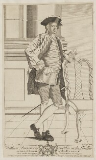 William Parsons, by John Brooks, published by  F. Chamberlayne, after  T. Jonson - NPG D39557