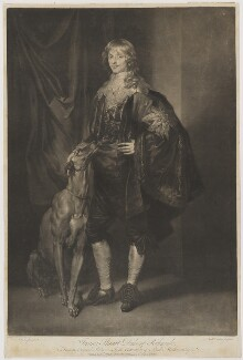 James Stuart, 1st Duke of Richmond and 4th Duke of Lennox, by Richard Earlom, published by  John Boydell, after  Sir Anthony van Dyck - NPG D39737