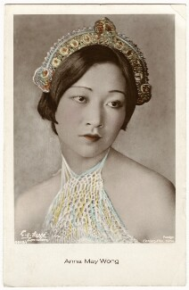 Anna May Wong, by E.O. Hoppé - NPG x134423