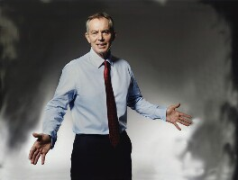 Tony Blair, by John Swannell - NPG x134394
