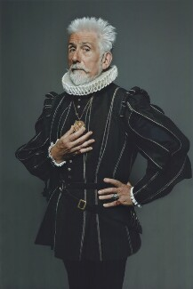 Sir Roy Strong: An Elizabethan Reverie, by John Swannell, 2010 - NPG x134403 - © John Swannell / Camera Press