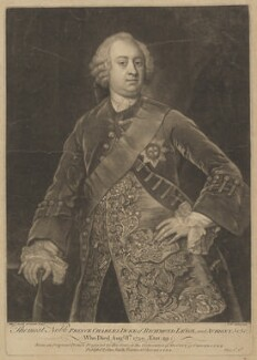 Charles Lennox, 2nd Duke of Richmond and Lennox, by James Macardell, published by  George Smith, after  William Smith - NPG D39745