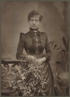Alice Ann Cornwell (later Mrs Stannard Robinson), by Herbert Rose Barraud - NPG Ax8706