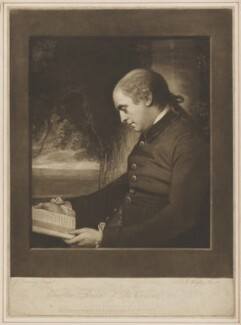 Charles Lennox, 3rd Duke of Richmond and Lennox, by James Watson, after  George Romney - NPG D39747