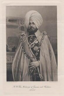 Sir Pratab Singh, Maharaja of Jammu and Kashmir, by Walker & Cockerell, after  G. Craddock & Co - NPG x134433