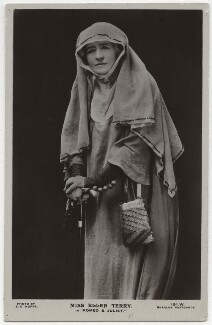 Ellen Terry as the Nurse in 'Romeo and Juliet', by E.O. Hoppé, published by  J. Beagles & Co, 1919 - NPG  - © 2019 E.O. Hoppé Estate Collection / Curatorial Assistance Inc.