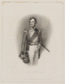 Charles Gordon-Lennox, 5th Duke of Richmond and Lennox, by John Cochran, republished by  Thomas Boys, republished by  Ernest Gambart & Co, after  William Salter - NPG D39753