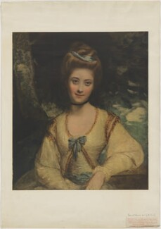 Miss Ridge, published by The Medici Society Ltd, after  Sir Joshua Reynolds, published 1911 (1773-1774?) - NPG D39759 - © National Portrait Gallery, London