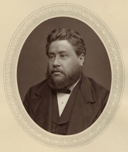 Charles Haddon Spurgeon, by Lock & Whitfield, published by  Sampson Low, Marston, Searle and Rivington - NPG x26542