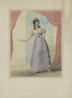 Mary Ann Paton (Mrs Wood) as Susanna in the Marriage of Figaro, probably by James Stewart, published by  Moon, Boys & Graves - NPG D39564