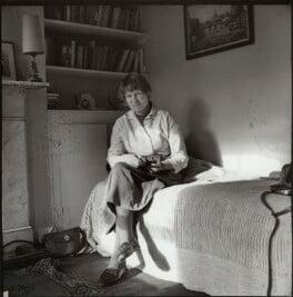 Iris Murdoch, by Ida Kar, 1957 - NPG x134438 - © National Portrait Gallery, London
