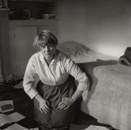 Iris Murdoch, by Ida Kar, 1957 - NPG x134440 - © National Portrait Gallery, London