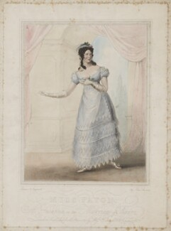 Mary Ann Paton (Mrs Wood) as Susanna in the Marriage of Figaro, probably by James Stewart, published by  Colnaghi & Co - NPG D39565