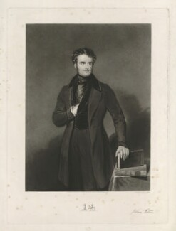 John Wilson-Patten, Baron Winmarleigh, by Thomas Goff Lupton, published by  Thomas Agnew, after  John Bostock - NPG D39566
