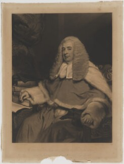 Sir John Patteson, by Samuel Cousins, published by  Sir Francis Graham Moon, 1st Bt, after  Margaret Sarah Carpenter - NPG D39570