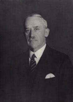 Sir (George) Christopher Clayton, by Walter Stoneman - NPG x166590