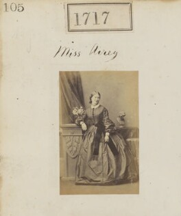 Probably Katherine Margaret (née Airey), Lady Cotterell, by Camille Silvy - NPG Ax51108